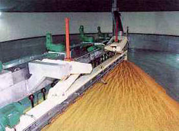 Combination germination vessel and drying kiln.