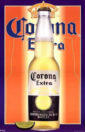 Grupo Modelo's number one beer Corona Extra.