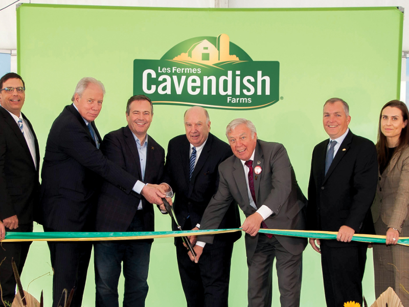 Cavendish Farms potato processing