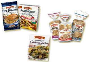 Products to be produced at the plant - bread, stuffing and croutons.