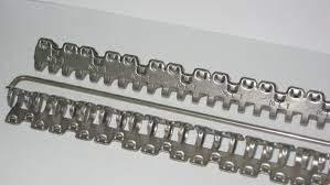 metal conveyor belt component