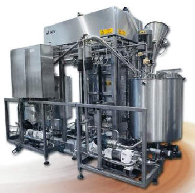 APV Baker coating system (mixing and preparation of coatings).