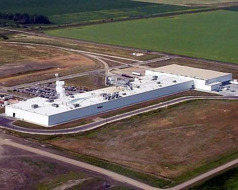 JR Simplot Company's new potato processing facility, Portage La Prairie, Manitoba, Canada.