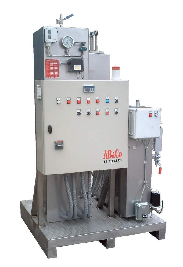 156kW electric steam boiler