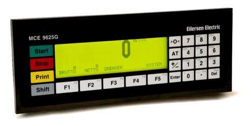 LCD weighing terminal