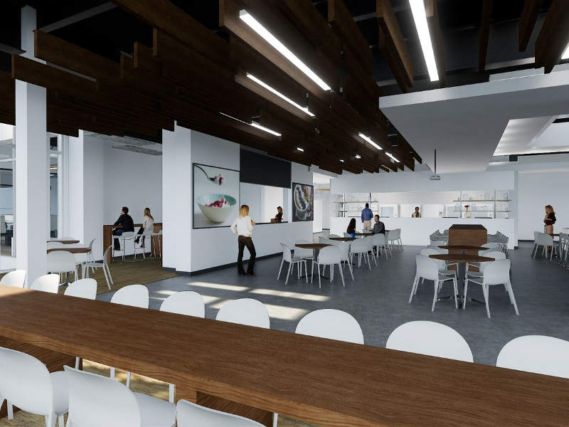 The expansion will include a wellness centre and gathering space for employees. Image: PRNewsfoto/Chobani, LLC.