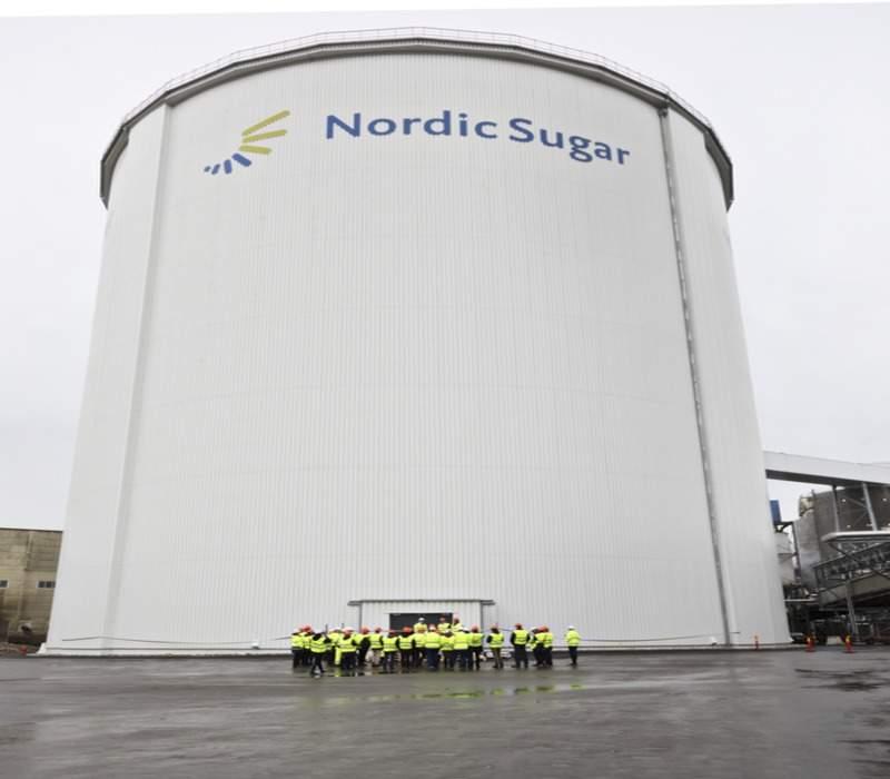 Nordic Sugar Silo Sweden