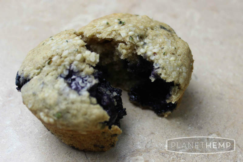 blueberry-banana-hemp-muffins