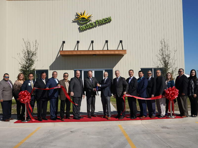 Index Fresh opened its new avocado processing and distribution facility in Pharr, Texas, US, in January 2018. Image courtesy of Index Fresh.