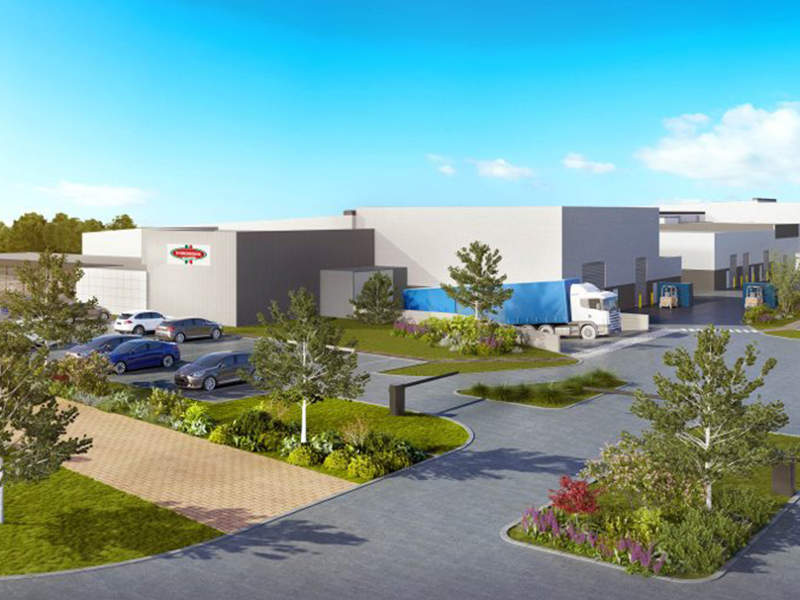 D'Orsogna's new food processing facility is being built in Merrifield Business Park in Mickleham, Victoria, Australia. Image courtesy of D'Orsogna.