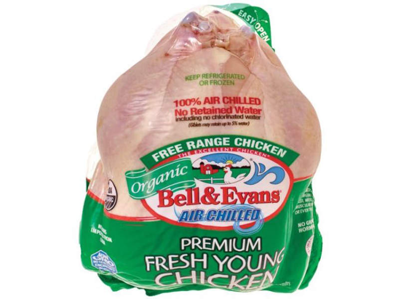 Bell & Evans' organic line of chicken products include chicken breasts, thighs, chicken nuggets and drumsticks. Image courtesy of Bell&Evans.