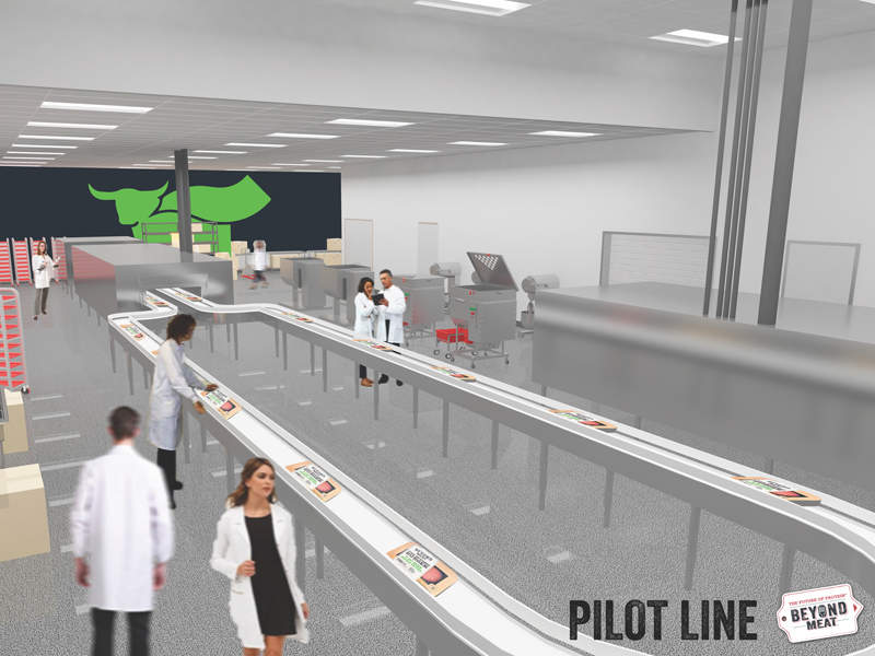 Pilot line in the new facility will possess the capability to test and produce new products. Graphic: Business Wire.