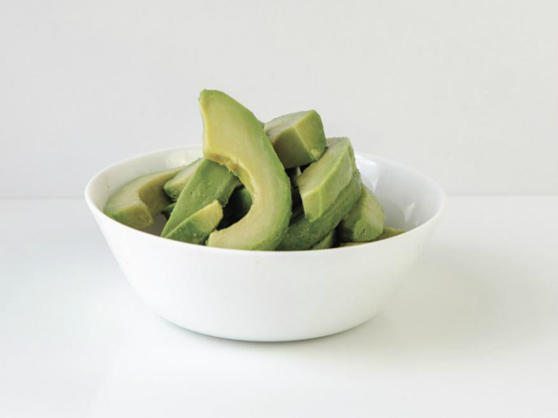 sliced IQF avocado