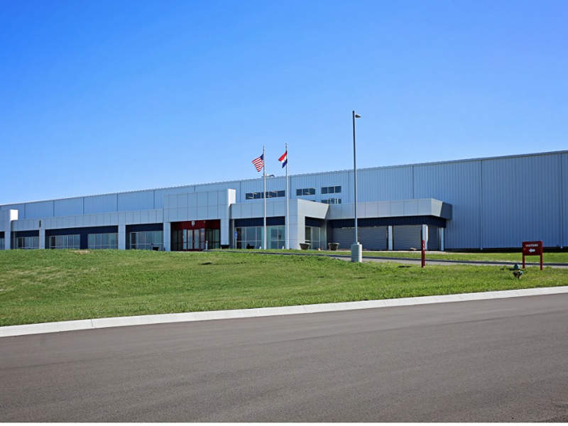 Heat and Control's new manufacturing facility was opened in January 2018. Image courtesy of Washington Engineering & Architecture (WEA).