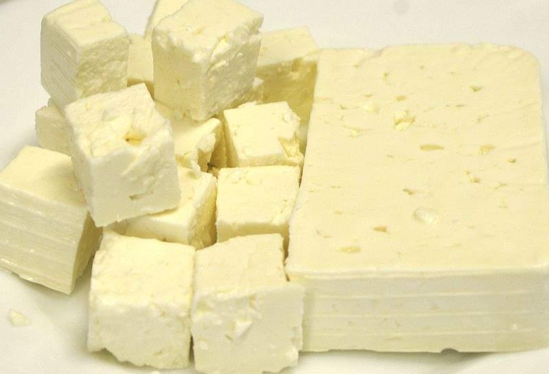 Feta-style cheese