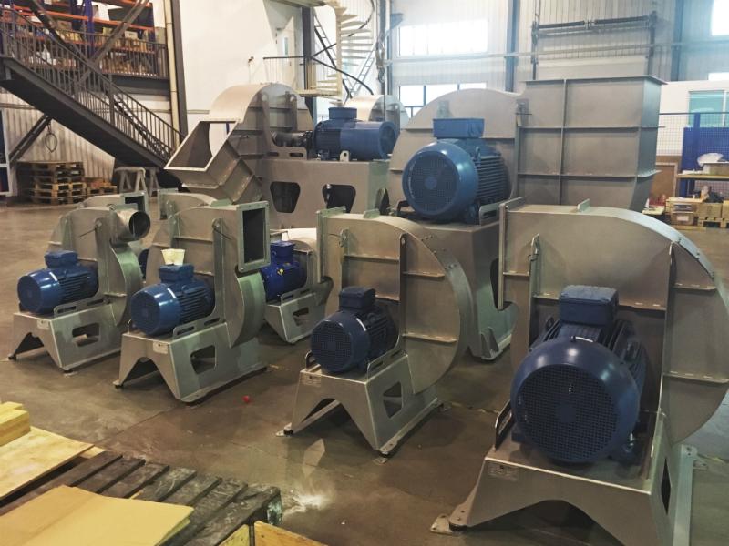 seal welded fans