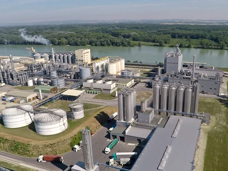AGRANA's new wheat starch facility in Pischelsdorf will be operational by 2020. Image courtesy of APA/agrana/schedl.