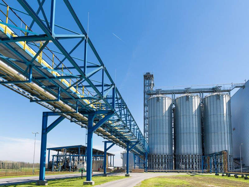 The new wheat starch facility will increase the production capacity of the site to one million tonnes. Image courtesy of APA/agrana/schedl.
