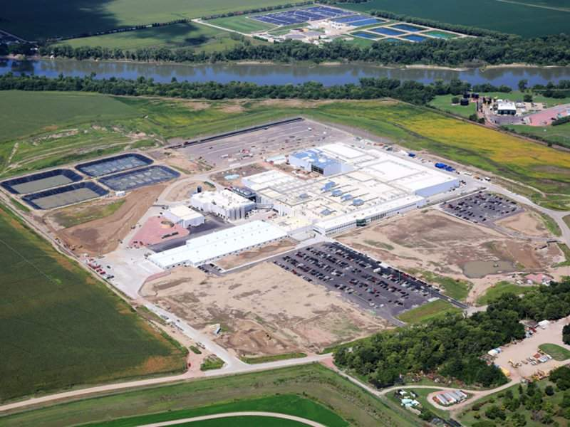 The new pork processing plant will process three million hogs a year to produce a full line of products. Image: courtesy of SEABOARD TRIUMPH FOODS.