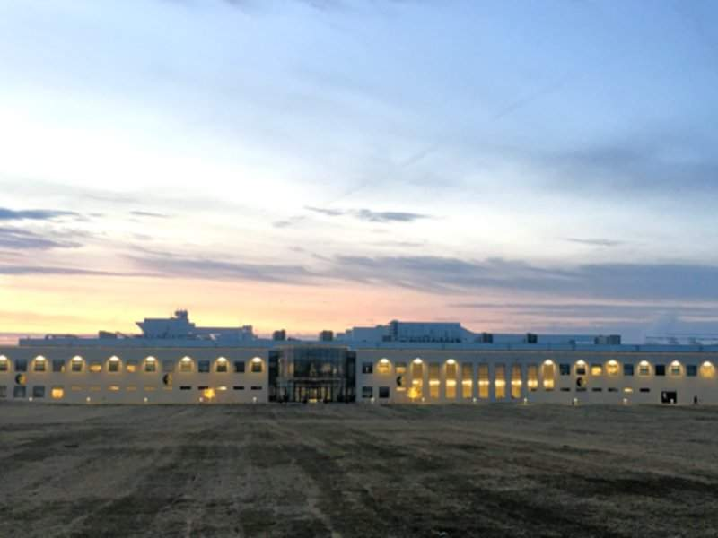 The plant is located in the Bridgeport West Industrial Park in Sioux City. Image: courtesy of SEABOARD TRIUMPH FOODS.
