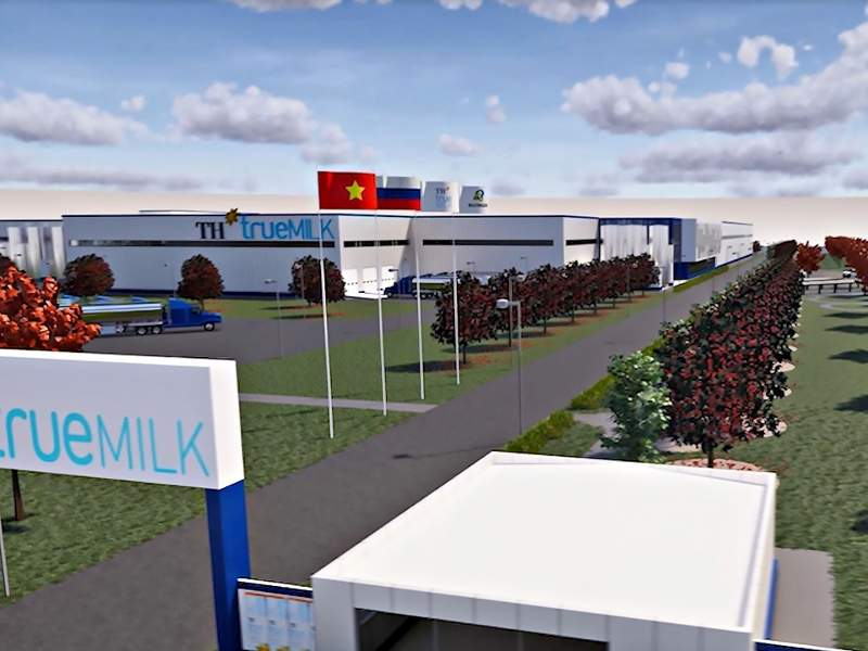 TH Group's milk processing factory is located in the Kaluga special economic zone (SEZ) in Borovsk District, Russia. Credit: Agency for Regional Development of Kaluga Region.