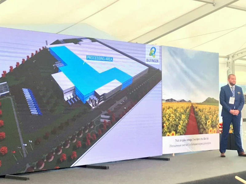The new milk processing facility will occupy an area of 40,000m². Credit: Bilfinger Tebodin B.V.