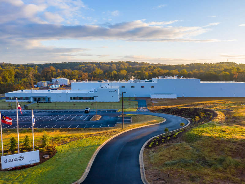 Symrise opened its new food ingredients plant in Banks County, Georgia, US, in October 2018. Image courtesy of Symrise.