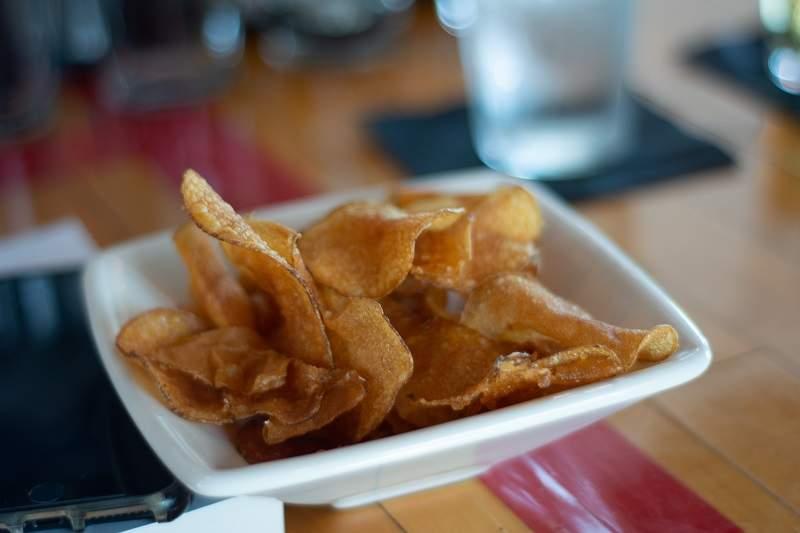 Gourmet crisps
