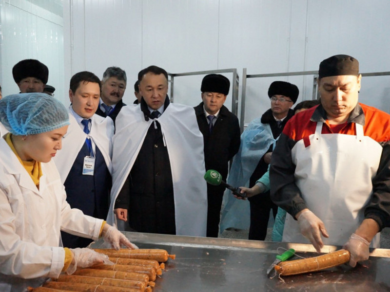 The plant has the capacity to produce 1,000t of meat products a year at its full capacity. Image courtesy of Mayor's Office of Kostanay Region.