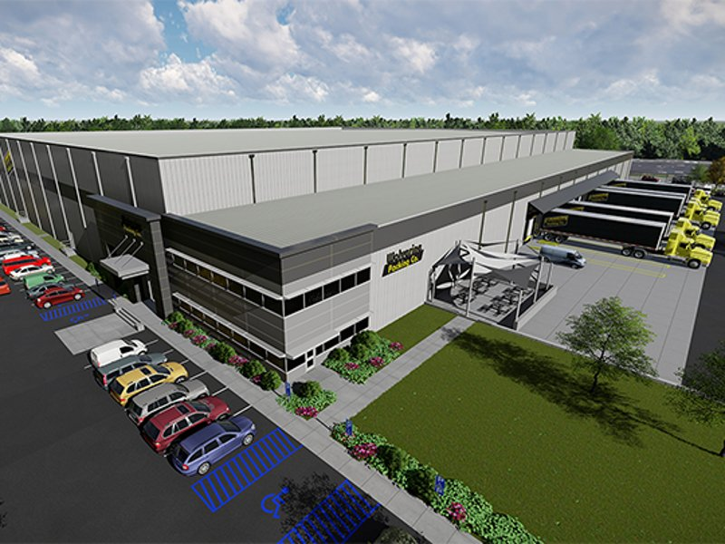 Wolverine Packing's fifth new meat storage and packing facility was constructed in Eastern Market of Detroit, US. Image courtesy of Tippmann Companies.