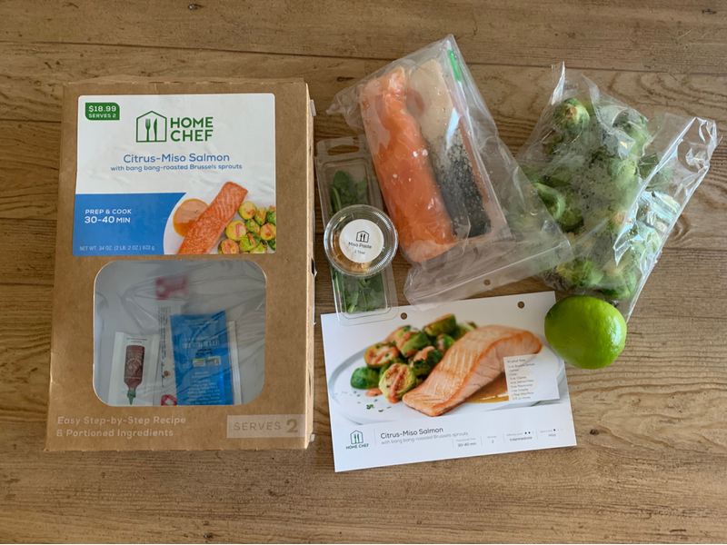 Meal kit delivery sustainability
