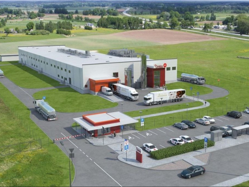 Laima's new production facility will be opened in Latvia in 2020. Image courtesy of Merko.