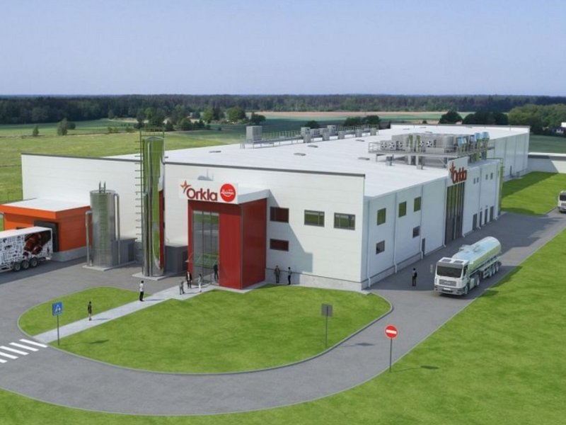 The facility will include a chocolate factory and technical buildings. Image courtesy of Merko.