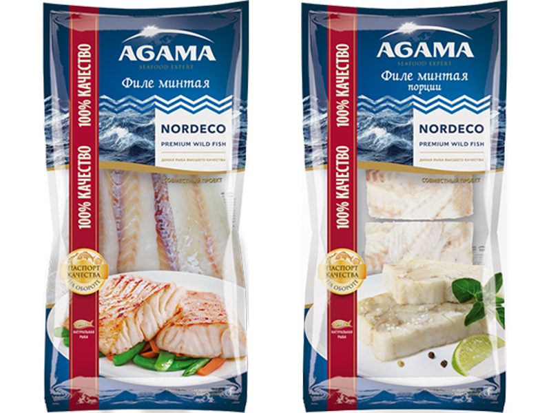 RFC also produces premium Alaska Pollock products. Credit: Russian Fishery Company.