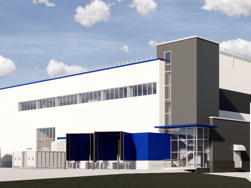 Fazer's xylitol manufacturing facility will be located in Lahti, Finland. Credit: NCC.