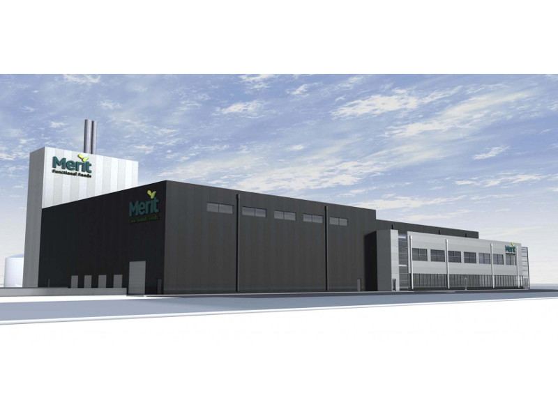 Merit Functional Foods' flex production plant is a new pea-protein and canola-protein production facility. Credit: CentrePort Canada.