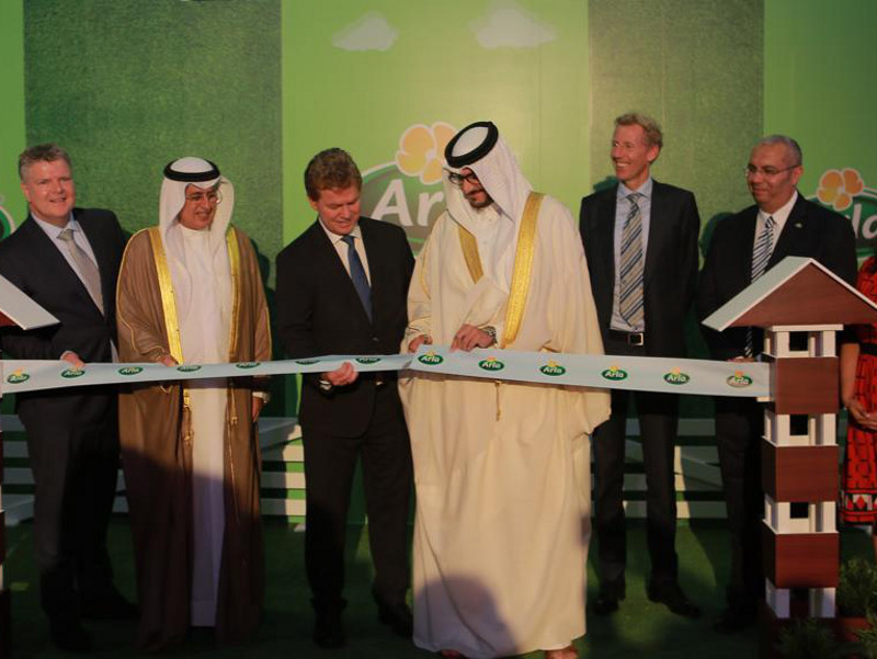 Arla Foods inaugurated its new cheese production site in Manama, Bahrain, in October 2019. Credit: Arla Foods amba.