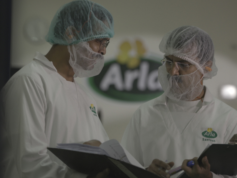 The new Arla cheese production facility is located on a former Mondeléz site. Credit: Arla Foods amba.