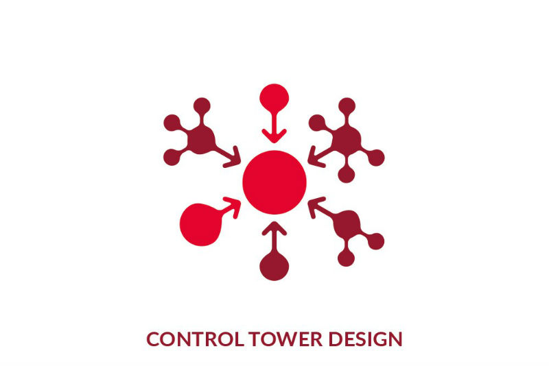 Control tower design graphic