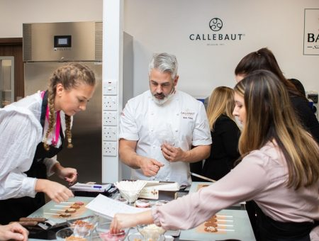 Barry Callebaut's new Chocolate Academy in the UK will help the company to meet the increasing demand for new chocolate products. Credit: Barry Callebaut.