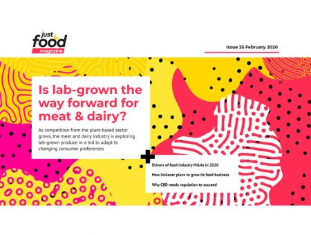 Is lab-grown the way forward for meat & dairy? New issue of just-food out now