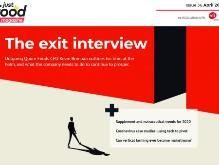 The exit interview with Quorn Foods' CEO: New issue of just-food out now