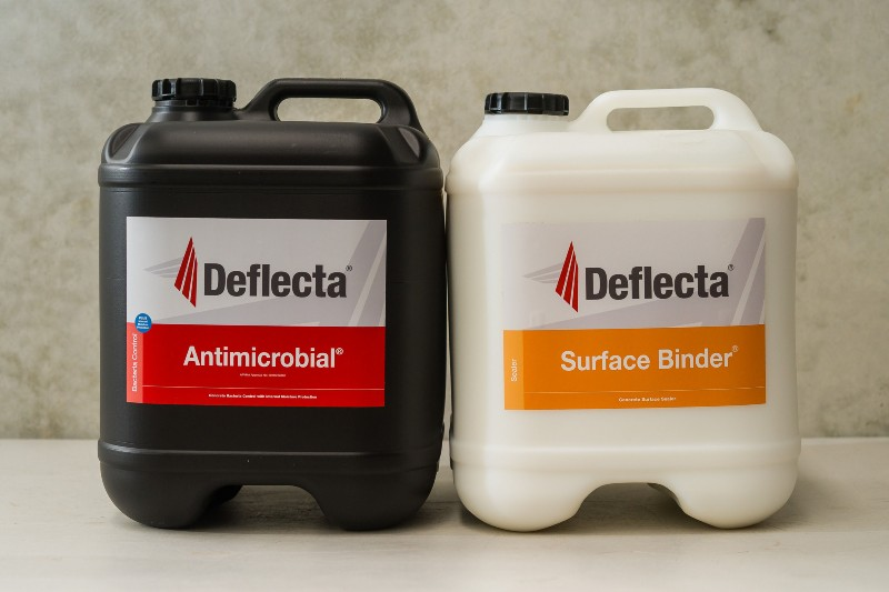 antimicrobial surface binder