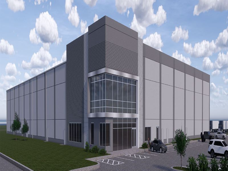 Domino's new manufacturing facility is expected to be completed in the fourth quarter of 2020. Credit: ARCO Design/Build.