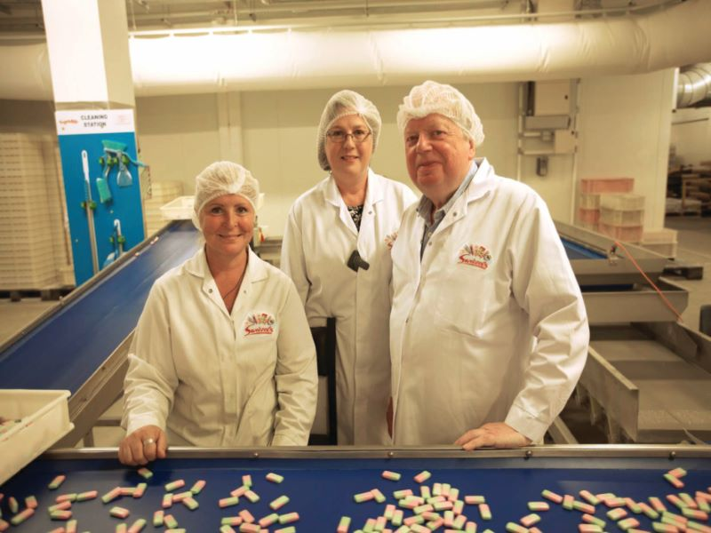 The manufacturing facility will increase Swizzels Matlow's current production capacity. Credit: Swizzels Matlow.
