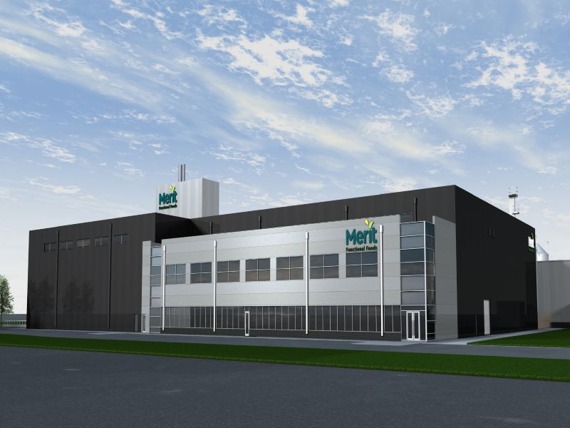 Merit Functional Foods' production facility in Winnipeg is estimated to be completed by the fourth quarter of 2020. Credit: Business Wire.