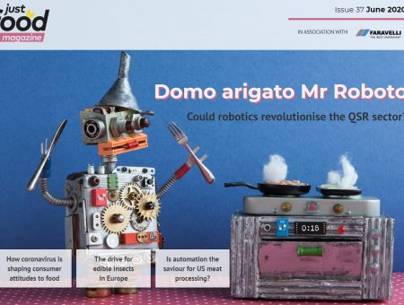Rise of the robots: new issue of just-food out now
