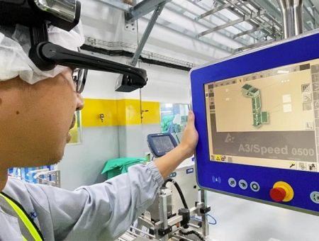 Nestlé expands usage of AR technology to support production