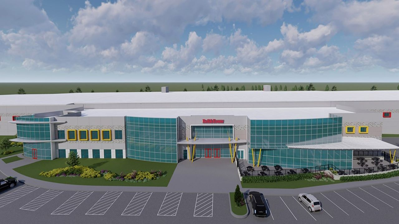 The organic-certified chicken harvesting facility will be operational by late 2021. Credit: Bell & Evans.