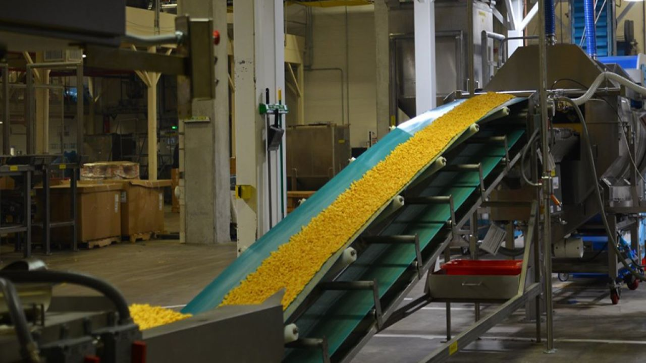 Campbell Soup Goldfish Production Facility